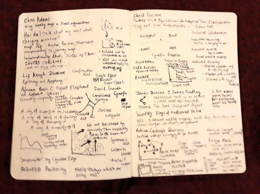more map camp scribble notes paul downey flickr
