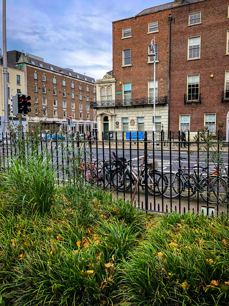 Oscar Wildes House From Merrion Square Dublin