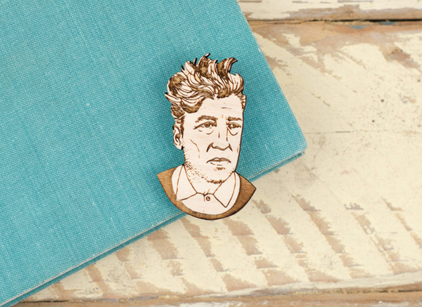 david lynch brooch