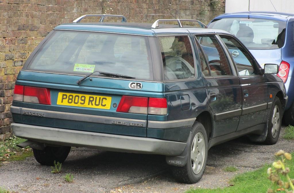 1996 peugeot 405 gtx turbo diesel estate seen in crawley flickr. Black Bedroom Furniture Sets. Home Design Ideas