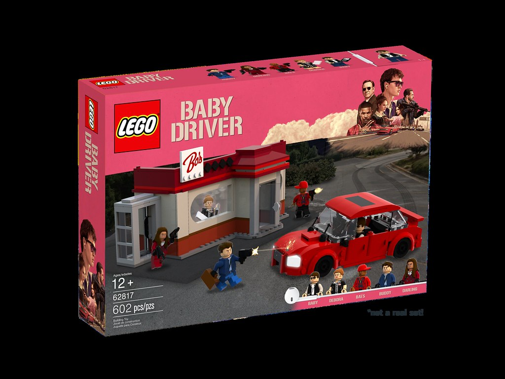62817 Baby Driver Swerve Into Action With The Lego Baby