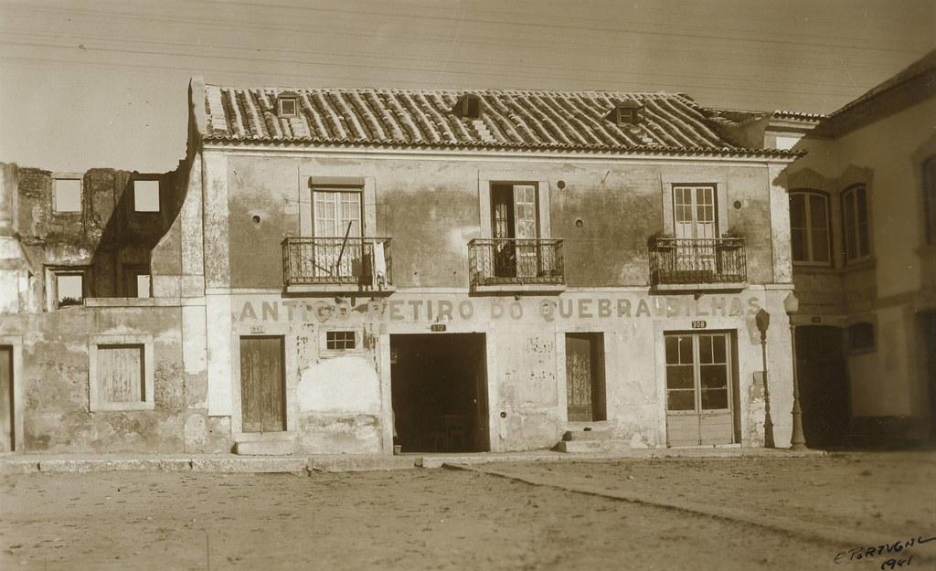 Quebra Bilhas, Campo Grande, Lisboa (E.Portugal, 1941)