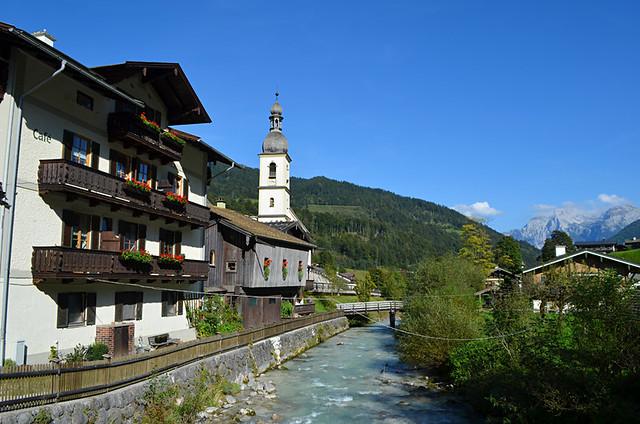 River, Ramsau, Bavaria