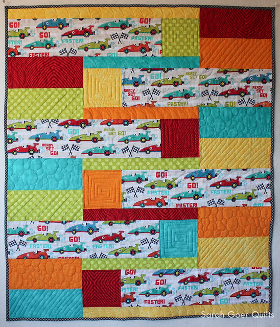 New Release: Back and Forth Baby Quilt Pattern - Sarah Goer