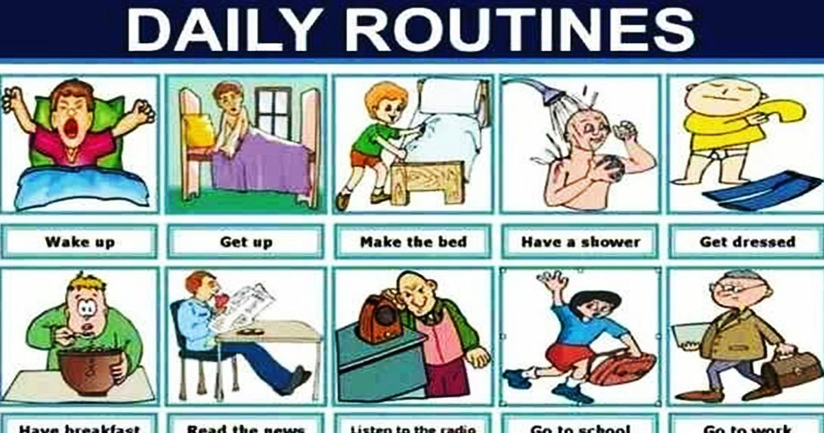Vocabulary: DAILY ROUTINES & ACTIVITIES 5