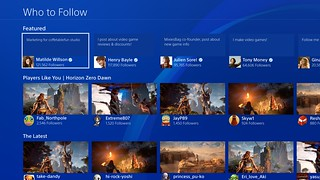 PS4 5.00 - Who To Follow | by PlayStation.Blog