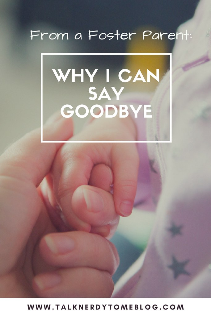 How foster parents can say goodbye. What is the true goal of fostering?