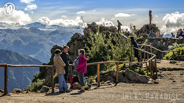 Parajes naturales en el Valle del Colca