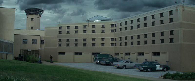 Prison exteriors