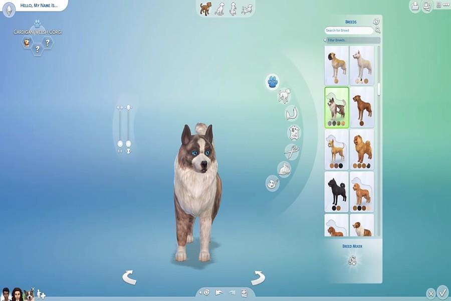 The Sims 4 Gatos e Cães – Gameplay do Criar um Bicho