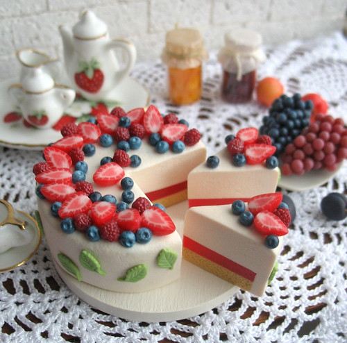 Wonderful strawberry cheesecake | by luckyjuliett