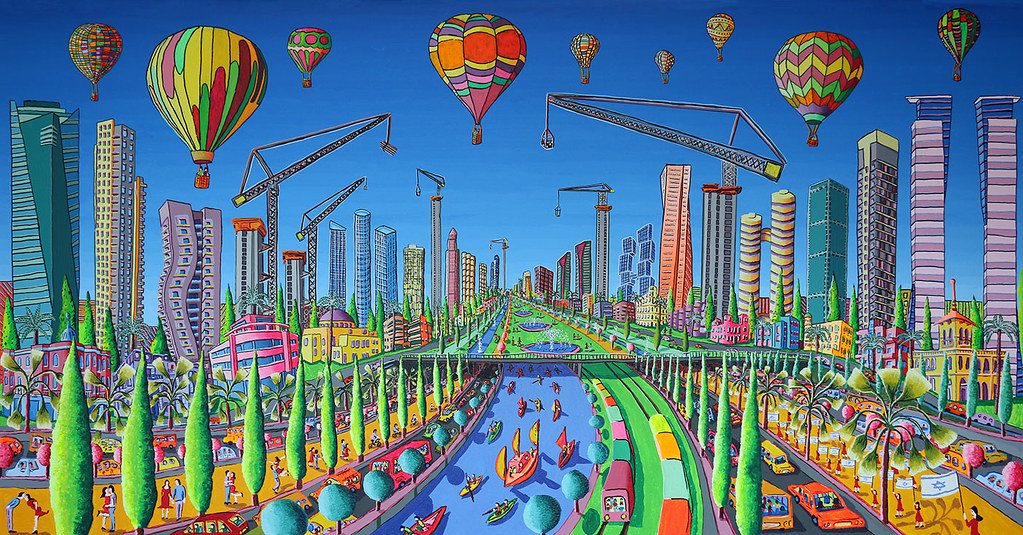 naive art paintings painting modern people sculpture desig