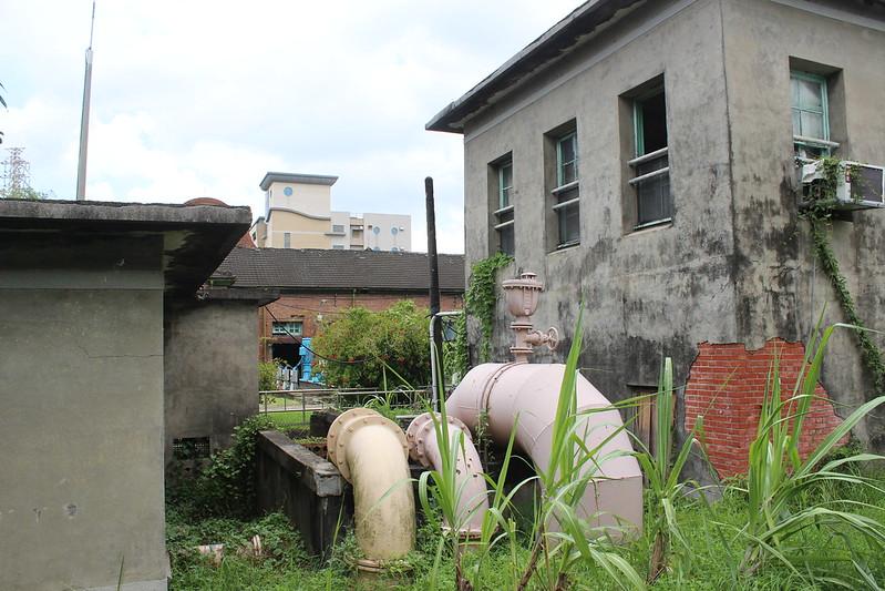 日治時期即有竹寮取水站使用伏流水。攝影:廖靜蕙