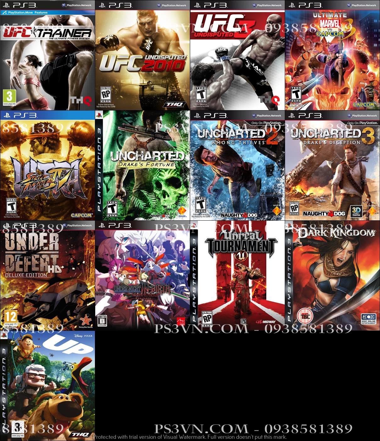 Chép Game PS3 tại nhà giá rẻ nhất TPHCM - PS3VN.COM - 42
