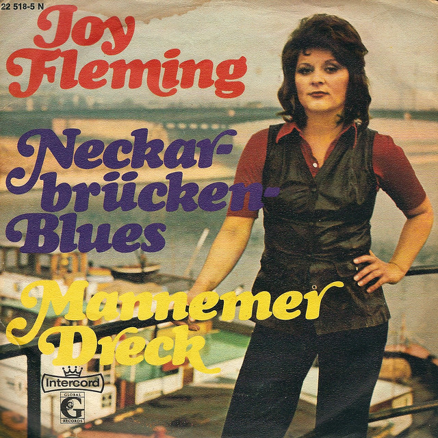 Single Joy Fleming 1972_Neckarbrücken Blues_Mannemer Dreck_Vorderseite