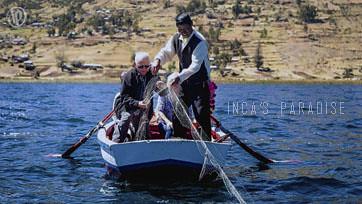Pesca en el Titicaca