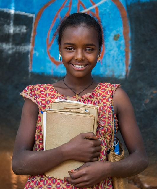 Mestawet Mekurya, 14, 7th grade student at Ayti orimary school, Zigem, Amhara region Ethiopia Follow