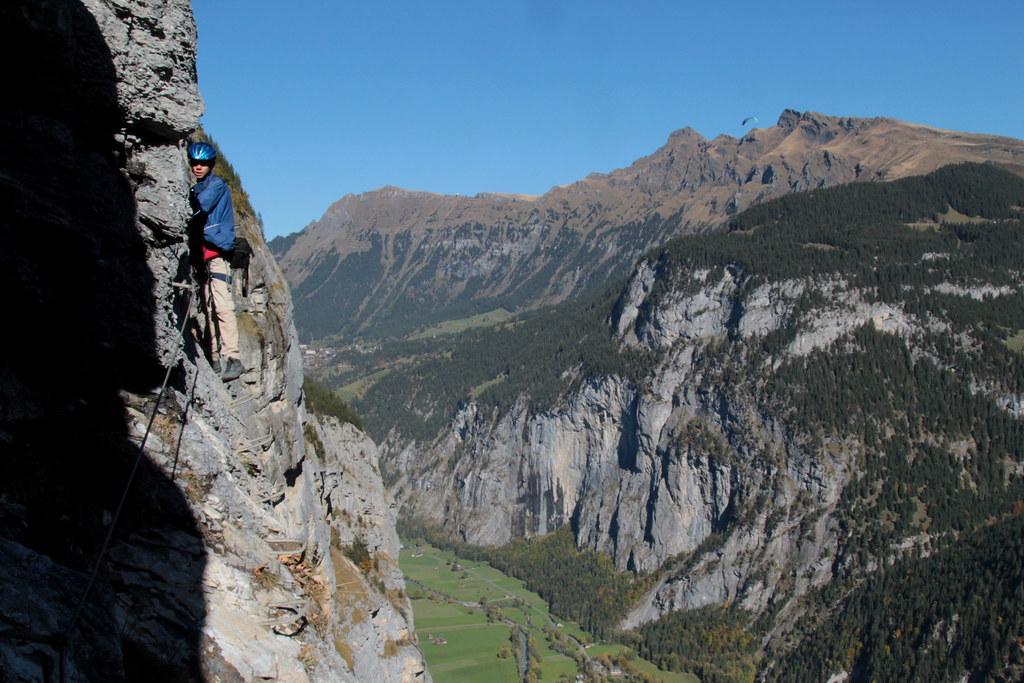 Klettersteig Mürren : Klettersteig mürren in den berner alpen alps im ou flickr