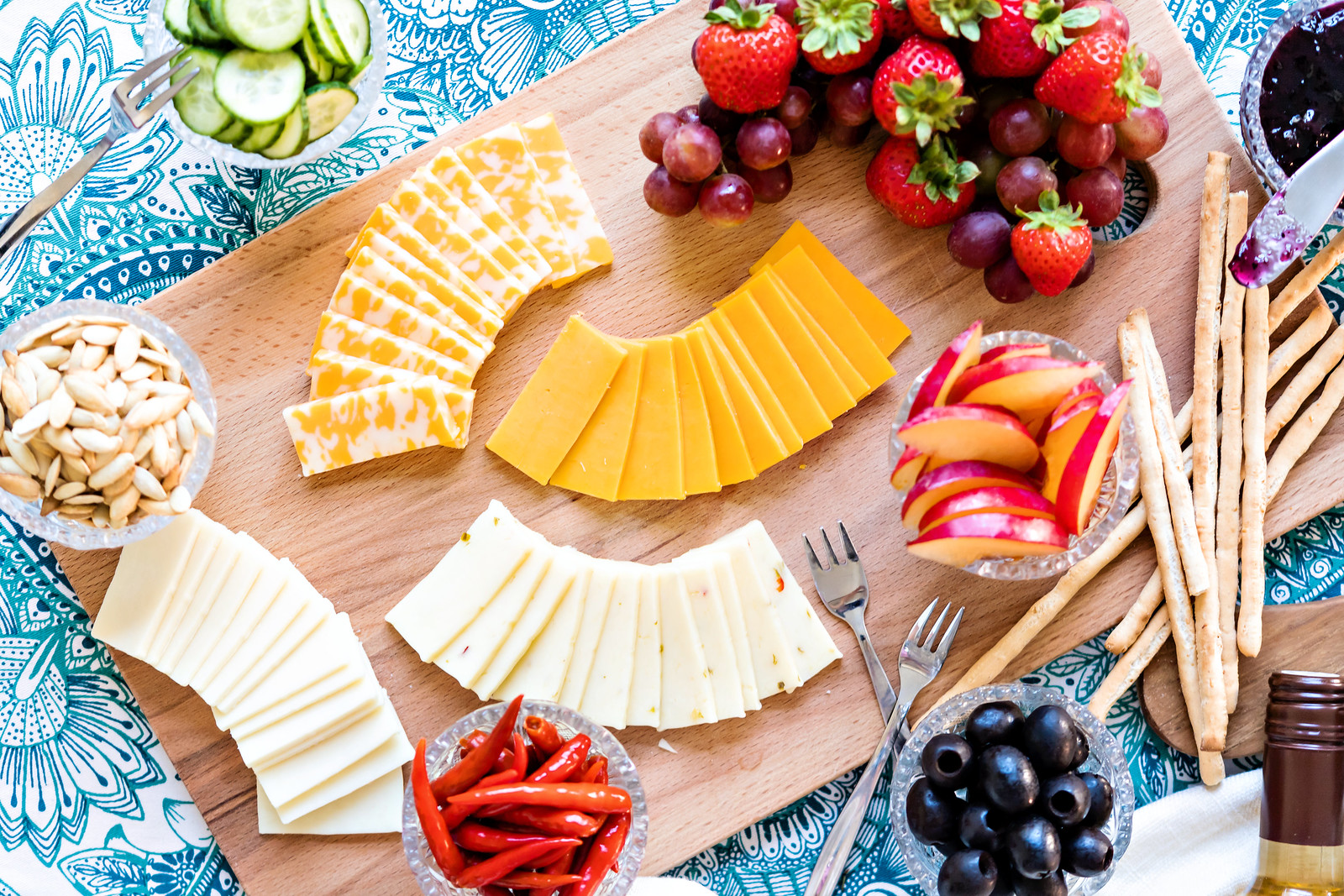 inexpensive cheese platter ideas