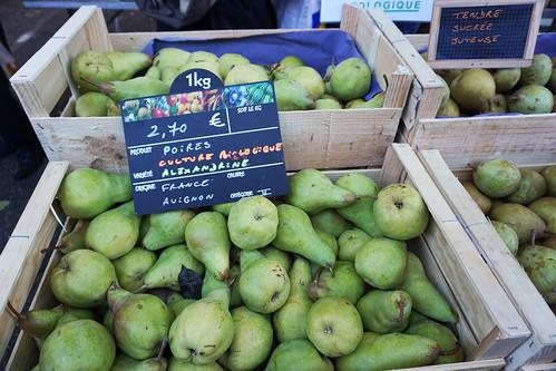 Grenoble pears