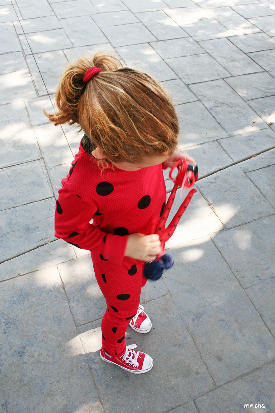 disfraz niña Ladybug