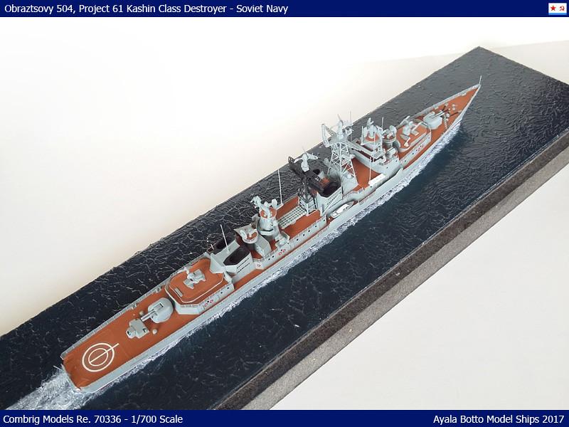 Destroyer Obraztsovy Projet 61 Classe Kashin Combrig 1/700 Marine Soviétique 36864389294_120c46aa72_b
