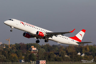 Austrian Airlines - E195 - OE-LWC (1) | by amluhfivegolf