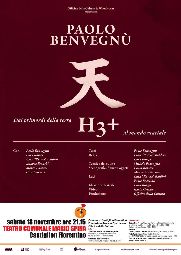 H3+ con Paolo Benvegnù