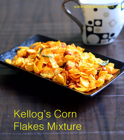Cornflakes mixture recipe without oil