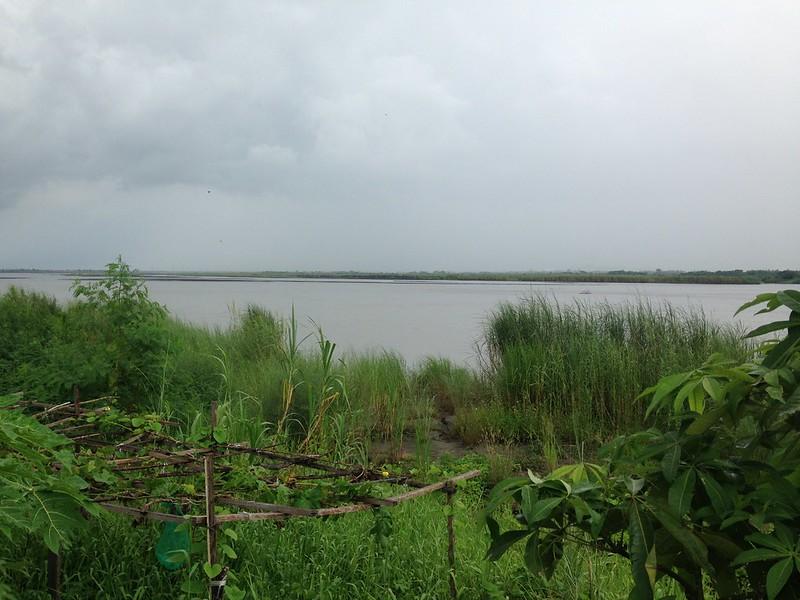 高屏溪畔傍河取水場址。攝影:廖靜蕙