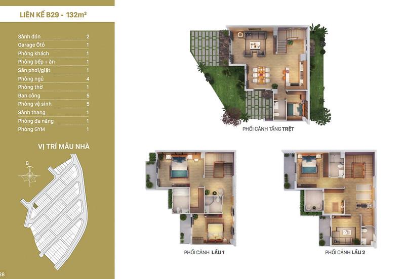 12 thiết kế mẫu nhà liên kế tại RioVista quận 9 6