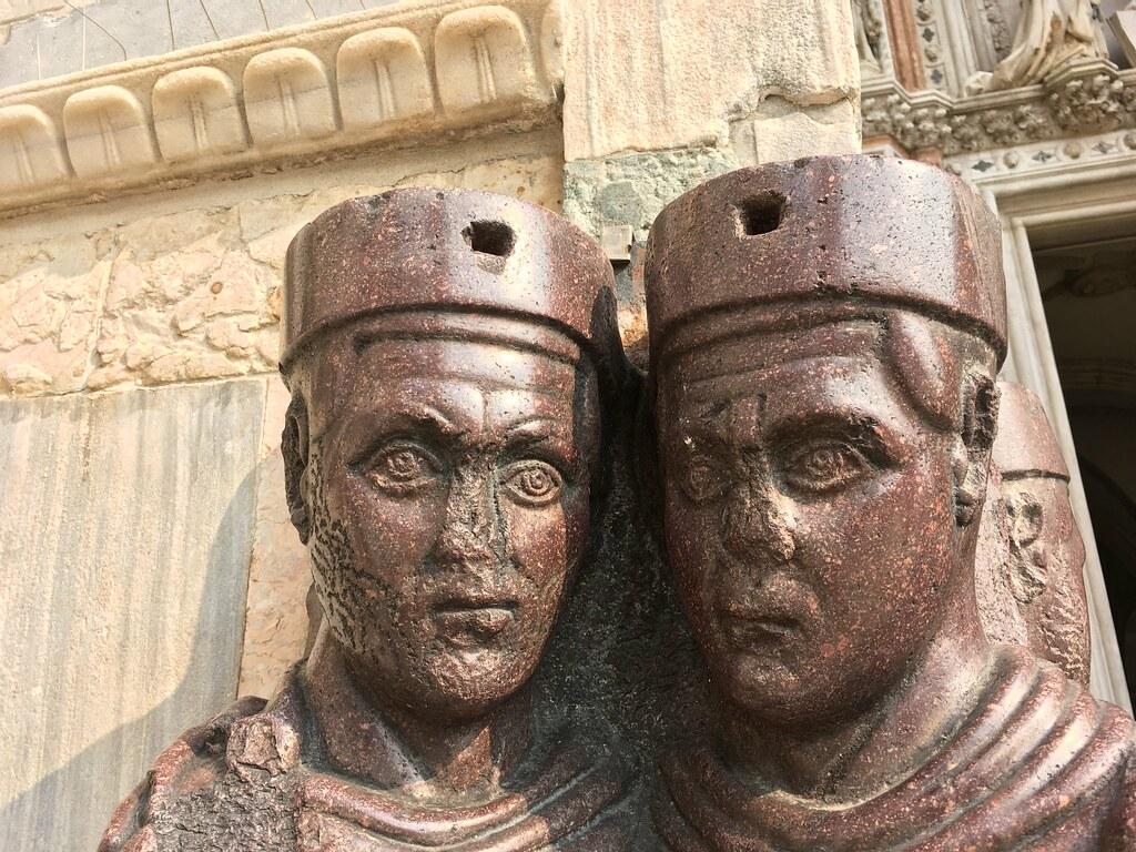 Portrait of the Four Tetrarchs (Monumento ai Tetrarchi), S… | Flickr