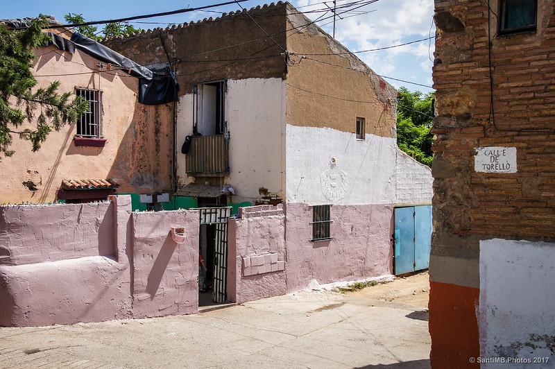 Calle Torelló en el barrio de Horta