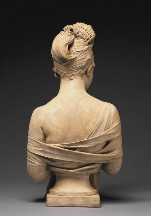 easy clay sculptures earwigbiscuits bust of juliette r