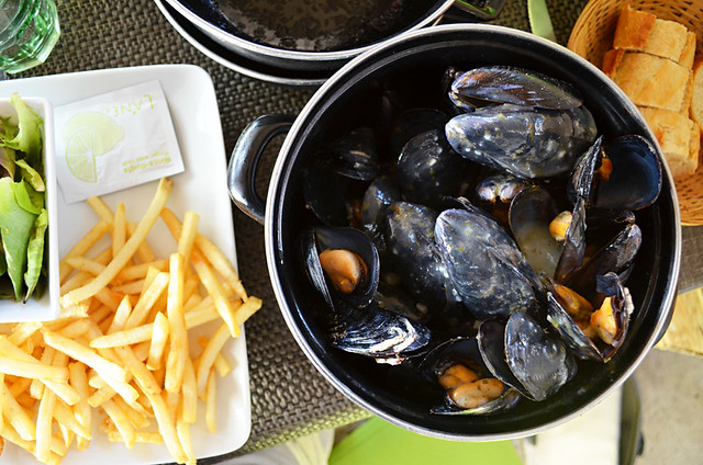 Moules frites, Camargue, France