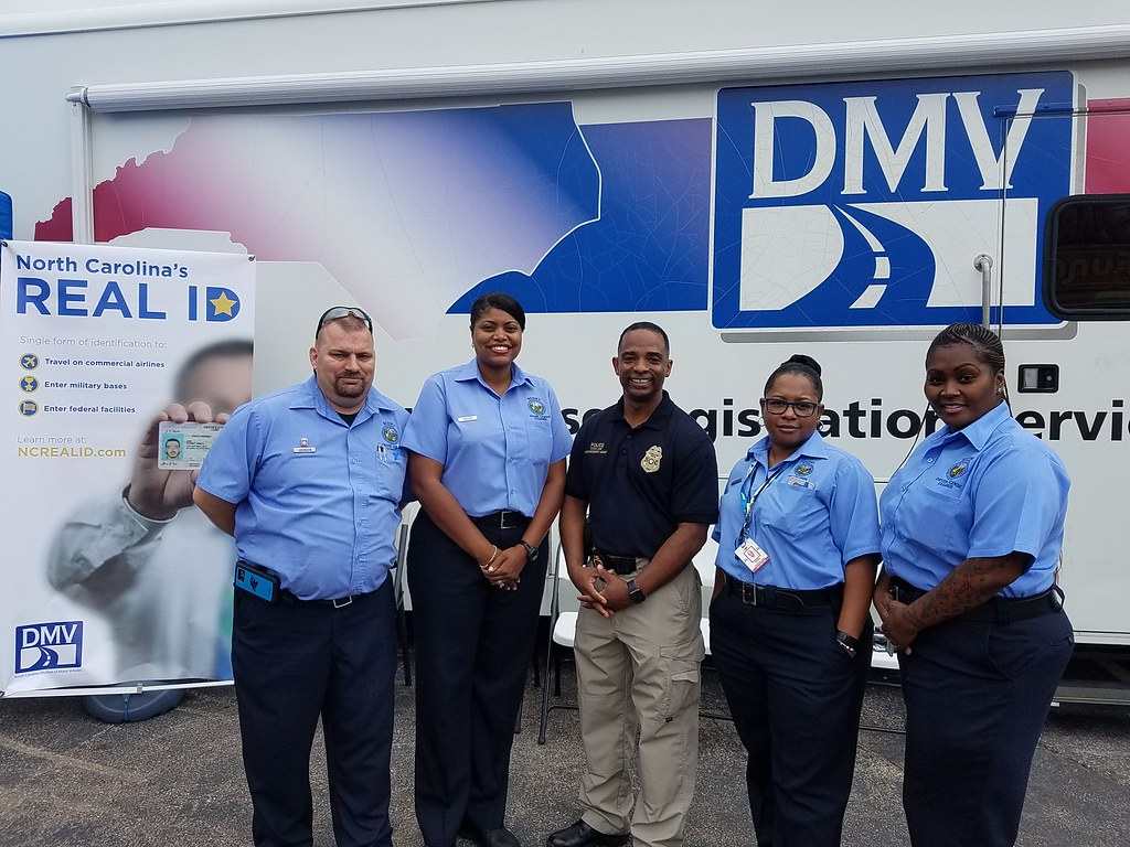 Ncdmv commissioner and examiners on opening day the for Nc division of motor vehicles driving log