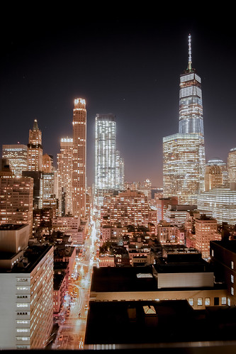 Manhattan at Night | by cvsta