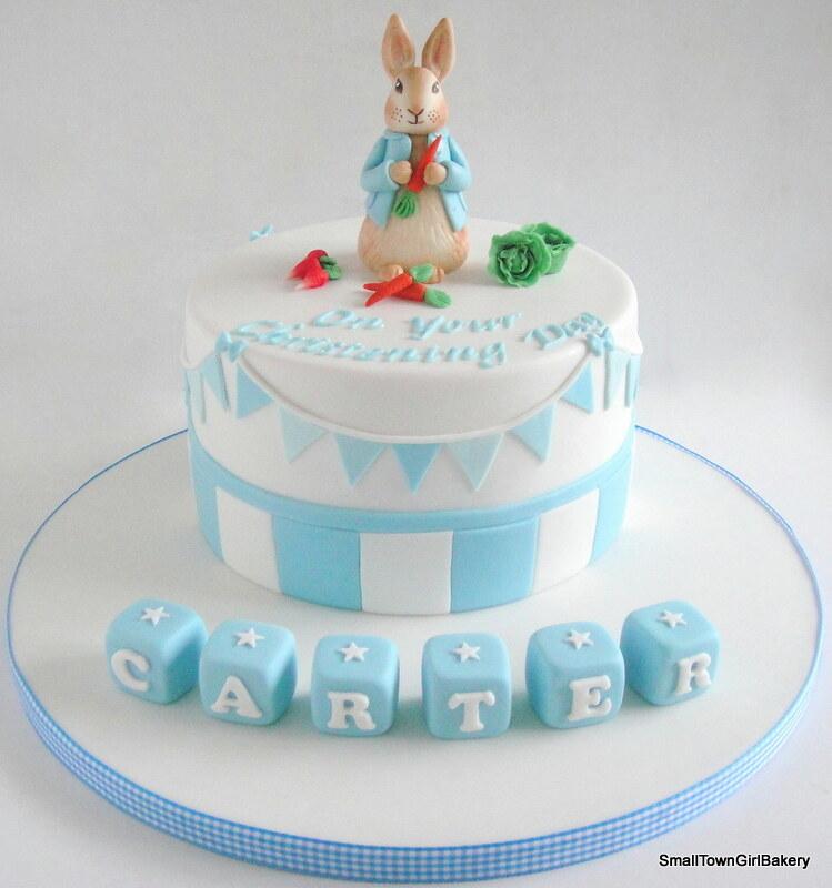 Peter Rabbit Christening Cake Small Town Girl Bakery Flickr