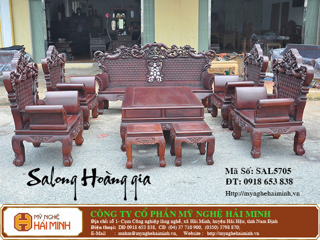 SAL5705a Salong Hoang gia  do go mynghehaiminh