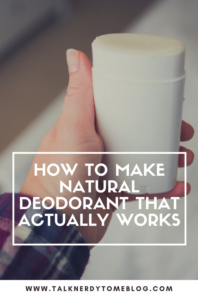 How to make a natural deodorant that actually works: A recipe!