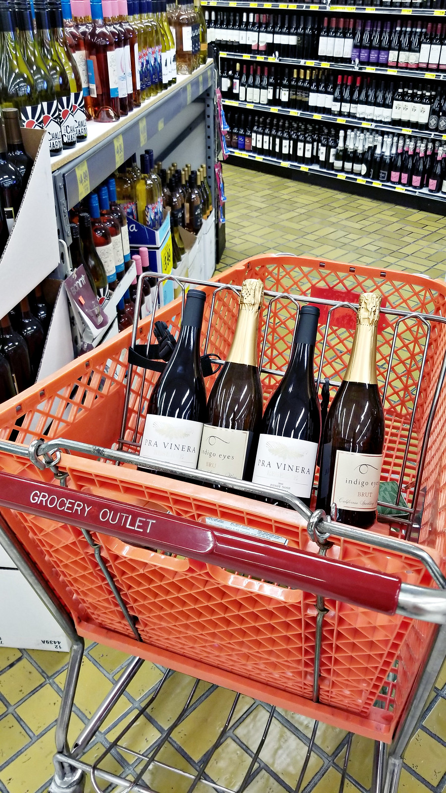 grocery outlet wines