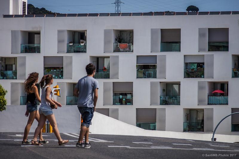Viviendas de la villa olímpica del barrio de Horta