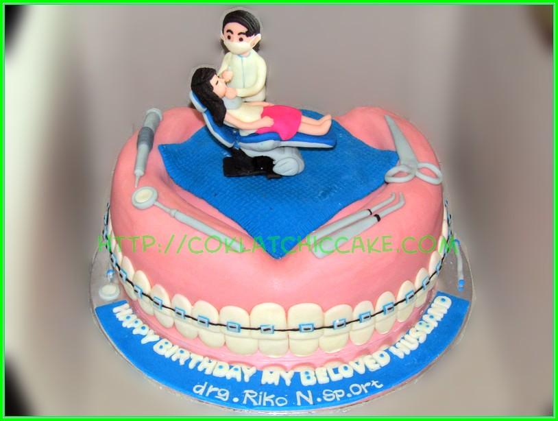 Cake Dentist Drg Riko Niken Idh Flickr