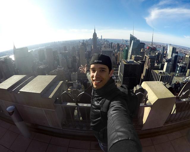 Desde el top of the rock, una de las paradas de nuestras rutas e itinerarios por Nueva York