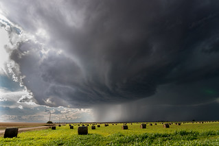 Growing supercell near Binkelman, NE | by chasingwithbill
