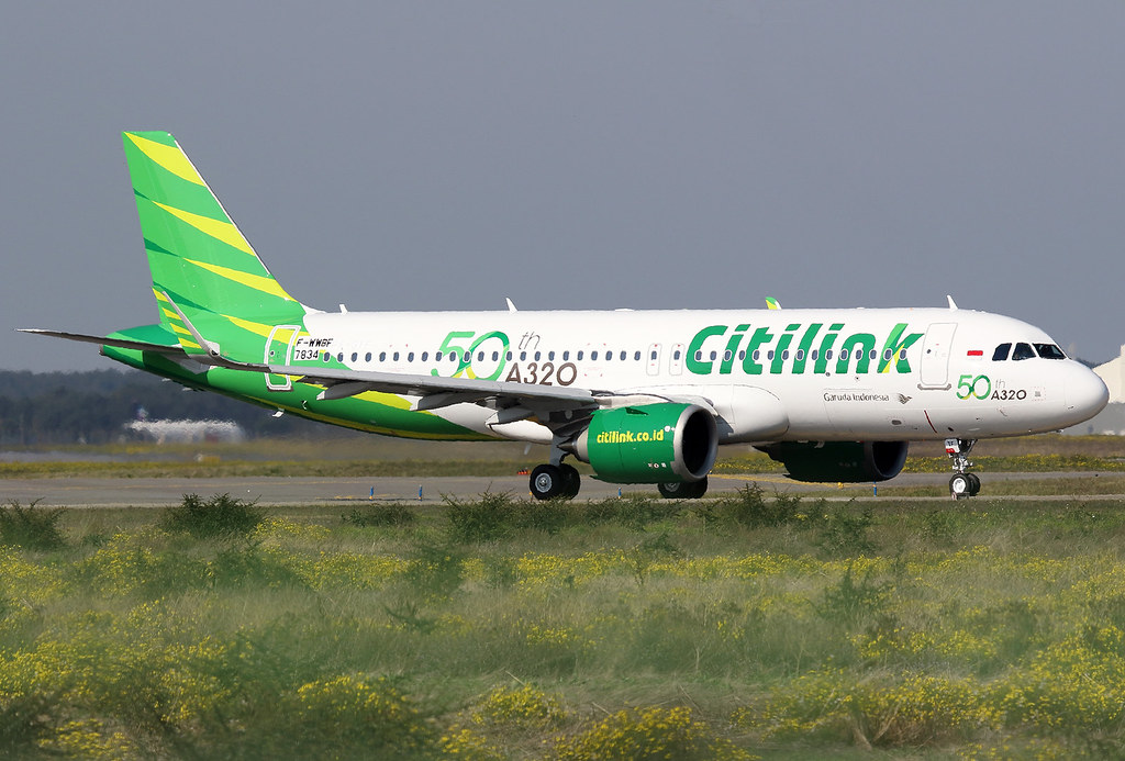 Citilink airbus a 320 neo f wwbf msn 7834 50th a 320 flickr citilink airbus a 320 neo f wwbf msn 7834 50th a 320 reheart Image collections