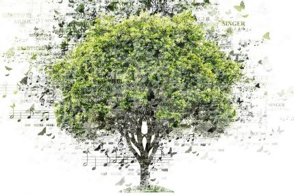 Nature Song Photoshop action V01 – the music of nature in pictures