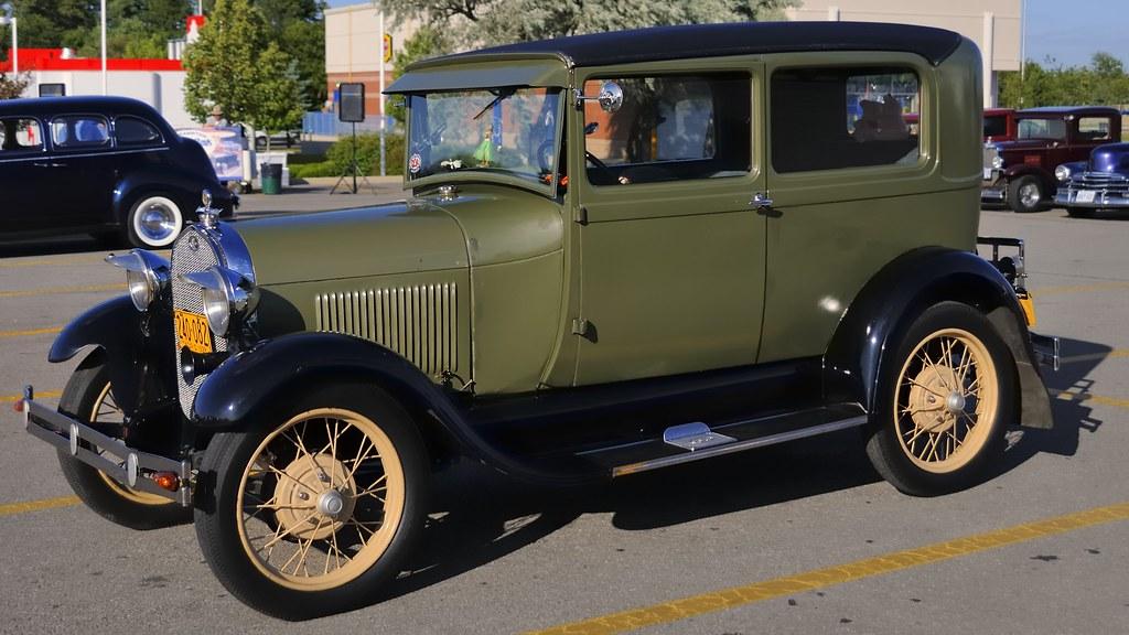 1928 Ford Model A Tudor sedan - Brampton Street Rods, Shop… | Flickr