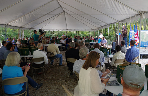NRCS and landowners celebrating their success with restoring 700,000 acres of wetlands