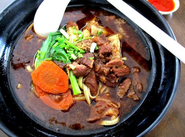 Yong Garden Restaurant Cafe beef noodles 2